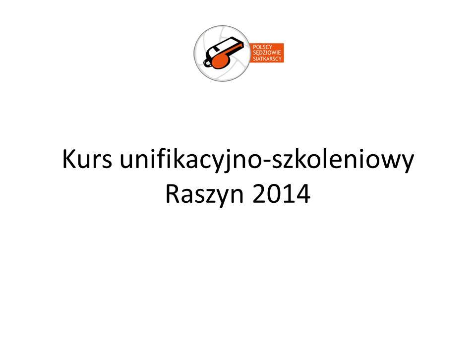 Kurs unifikacyjno-szkoleniowy Raszyn 2014