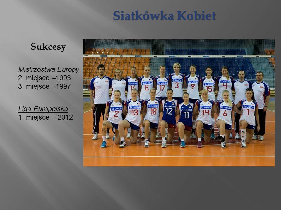 Siatkówka Kobiet Mistrzostwa Europy 2. miejsce –1993 3.