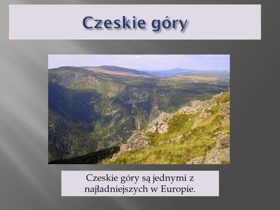 Czeskie góry są jednymi z najładniejszych w Europie.