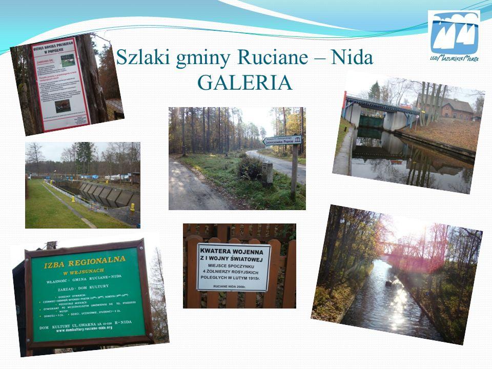 Szlaki gminy Ruciane – Nida GALERIA