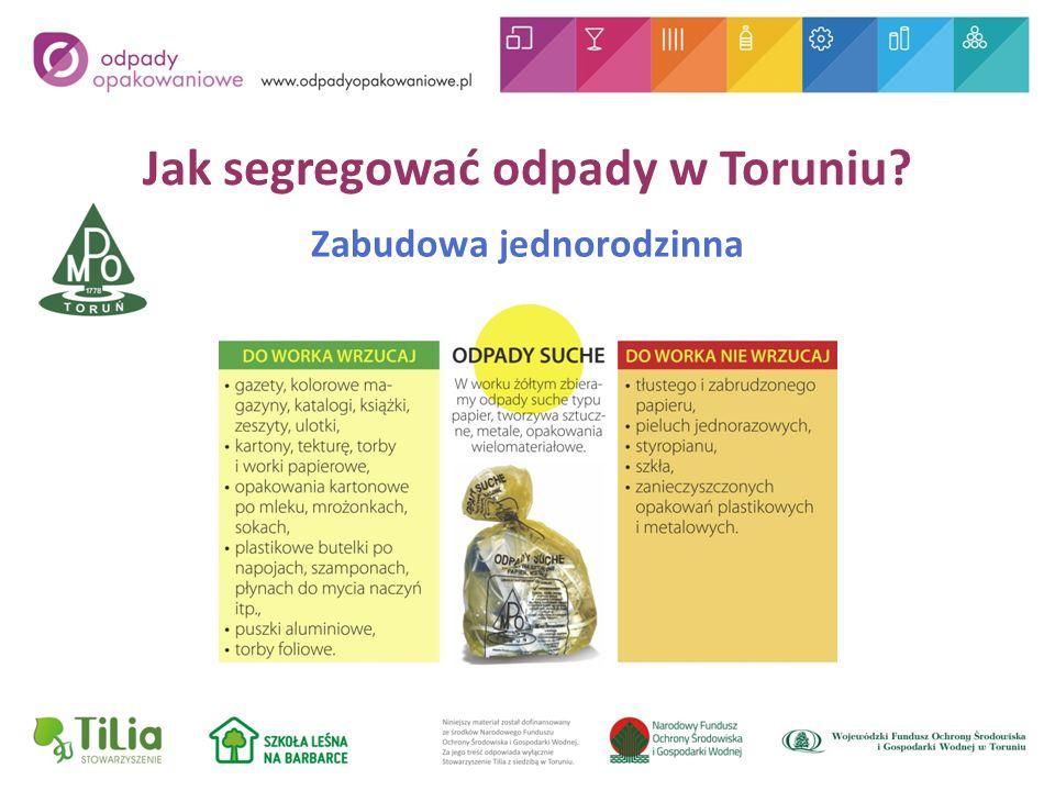 Jak segregować odpady w Toruniu Zabudowa jednorodzinna