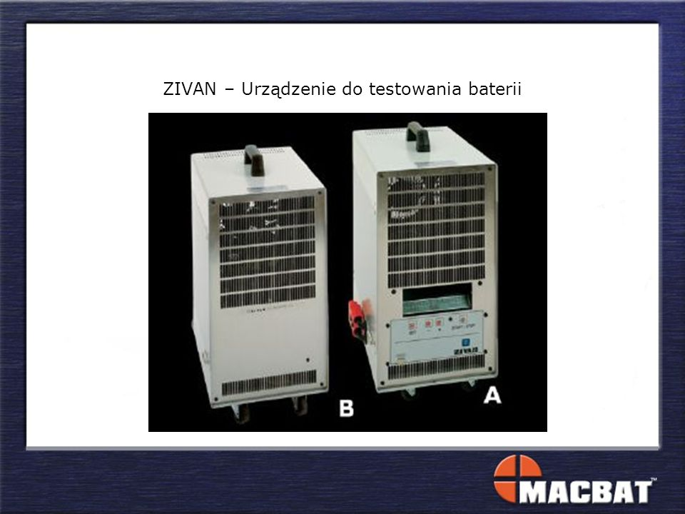 ZIVAN – Urządzenie do testowania baterii