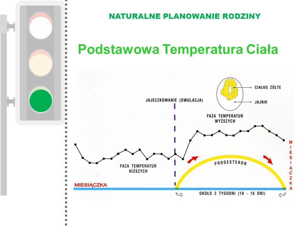 NATURALNE PLANOWANIE RODZINY Podstawowa Temperatura Ciała