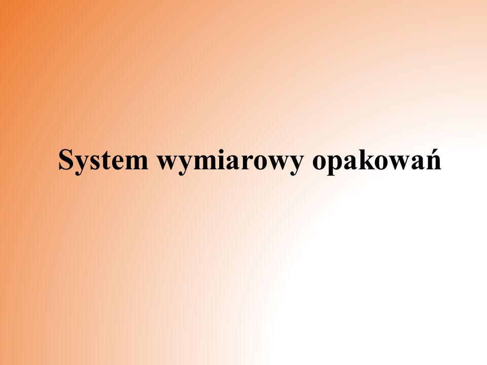 System wymiarowy opakowań