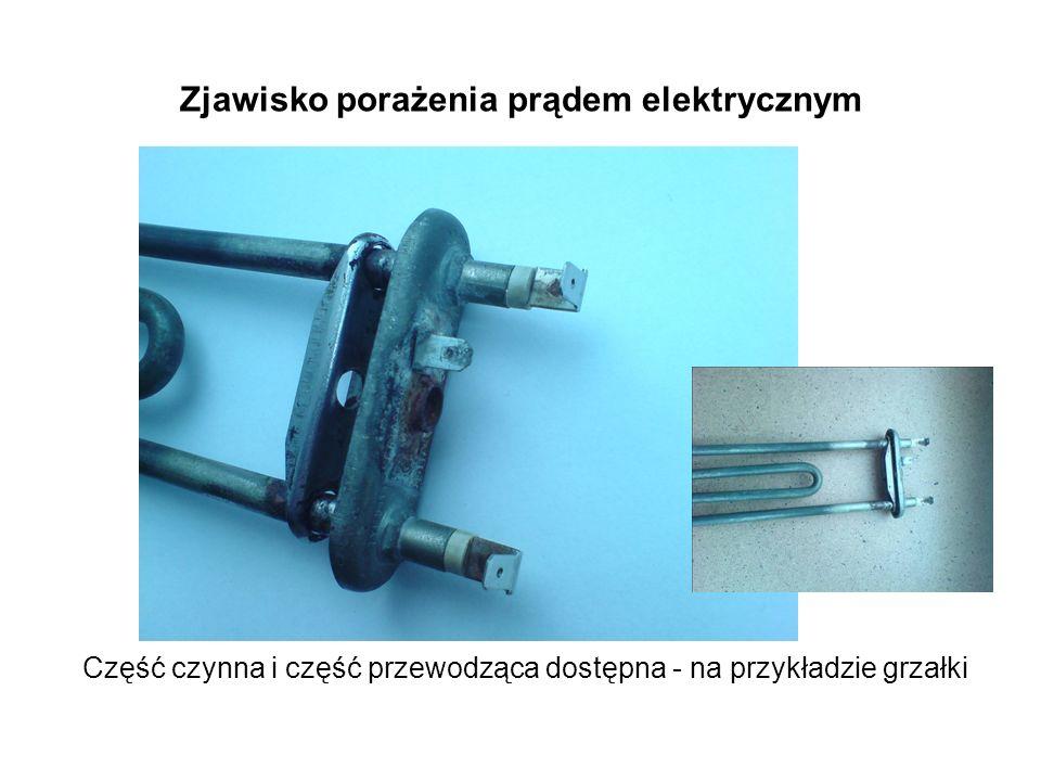 Część czynna i część przewodząca dostępna - na przykładzie grzałki