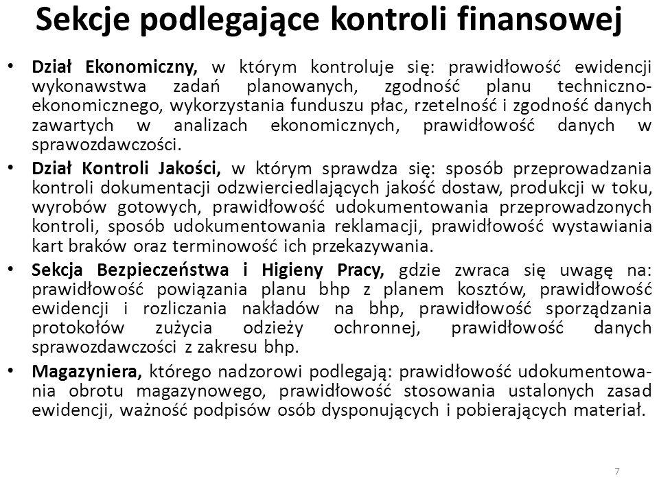 Kontrola kasy Z uwagi na to, że mimo upowszechnienia kart płatniczych, bardzo dużo operacji jest regulowanych gotówką należy w kasie dokonać ich kontroli wstępnej.
