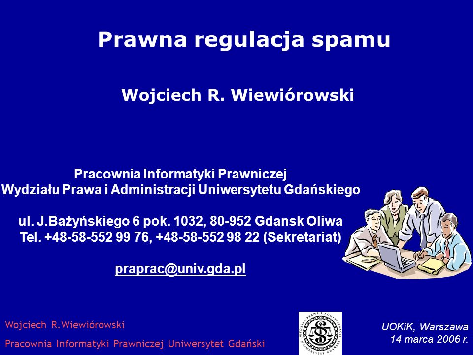 UOKiK, Warszawa 14 marca 2006 r.