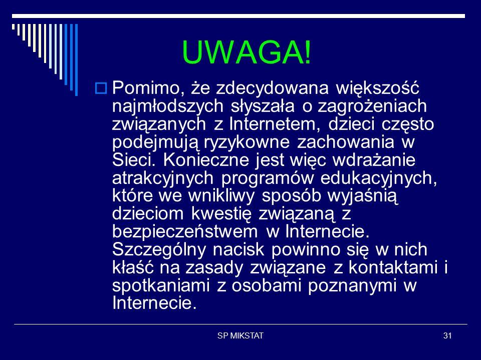 SP MIKSTAT31 UWAGA.
