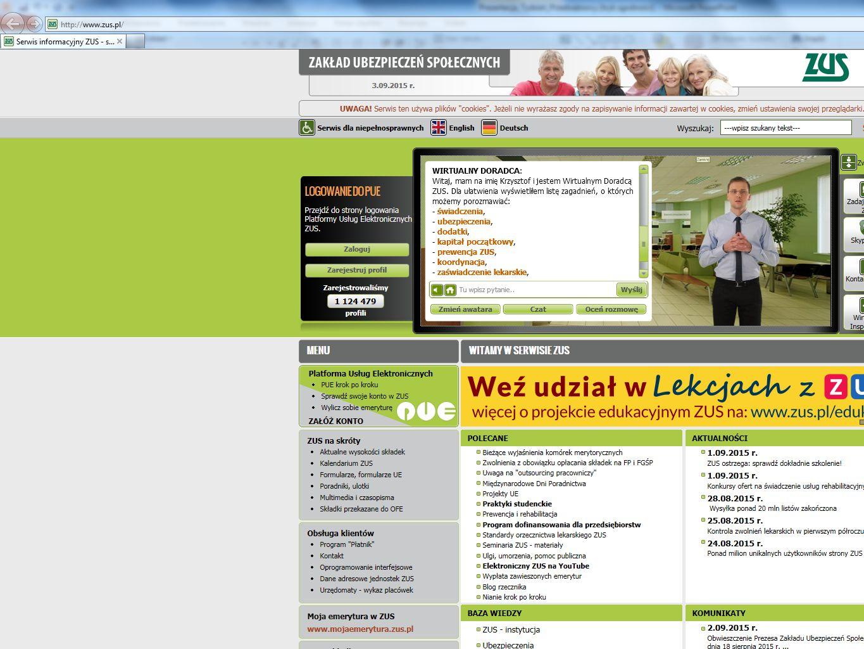 PUE Centrum Obsługi Telefonicznej - COT Adres e-mail do zapytań ogólnych: cot@zus.pl Za pośrednictwem poczty elektronicznej e-mail należy kierować wszelkie pytania ogólne z zakresu działalności ZUS.