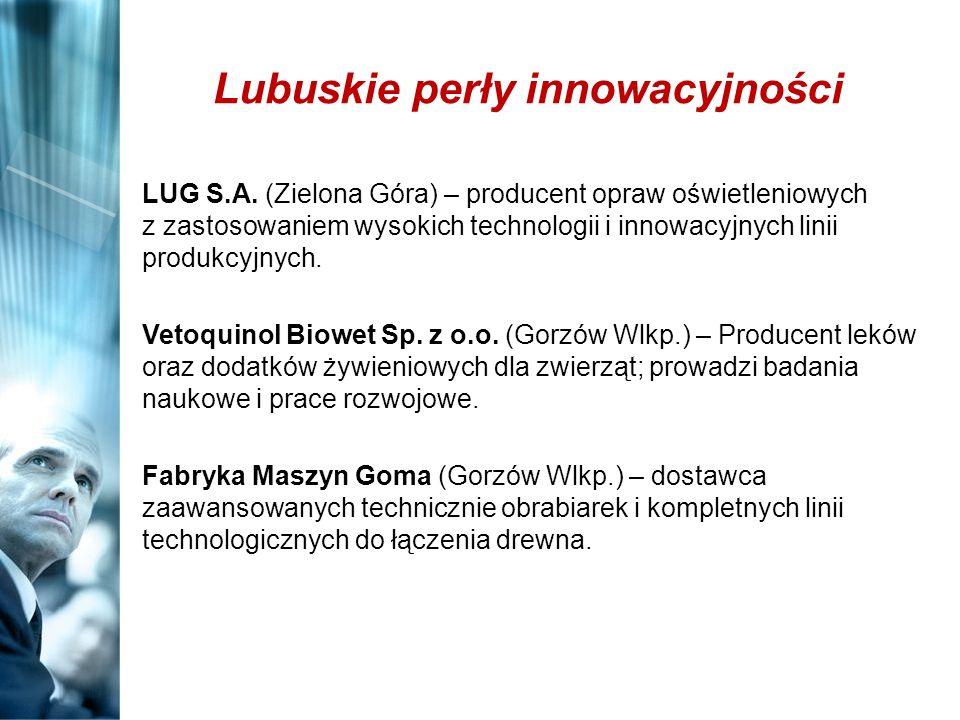 Lubuskie perły innowacyjności LUG S.A. (Zielona Góra) – producent opraw oświetleniowych z zastosowaniem wysokich technologii i innowacyjnych linii pro