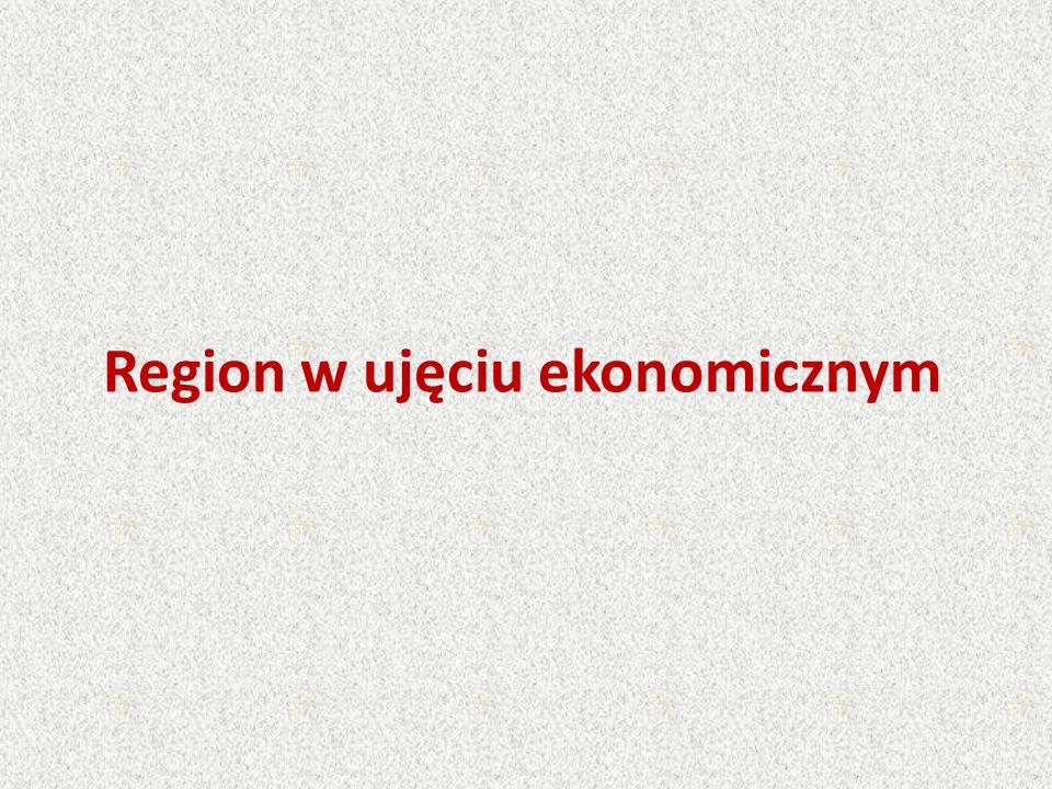 Region należy do podstawowych pojęć gospodarki przestrzennej.