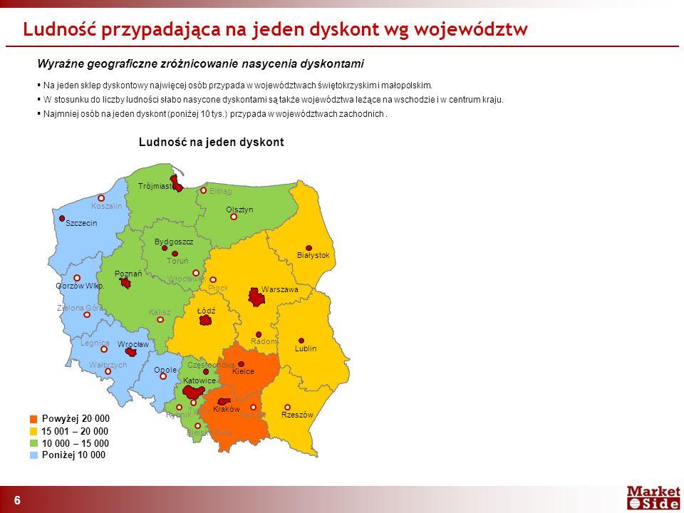 6 Szczecin Koszalin Elbląg Olsztyn Białystok Lublin Tarnów Rzeszów Bielsko Biała Tychy Częstochowa Kielce Rybnik Wałbrzych Opole Wrocław Legnica Gorzów Wlkp.