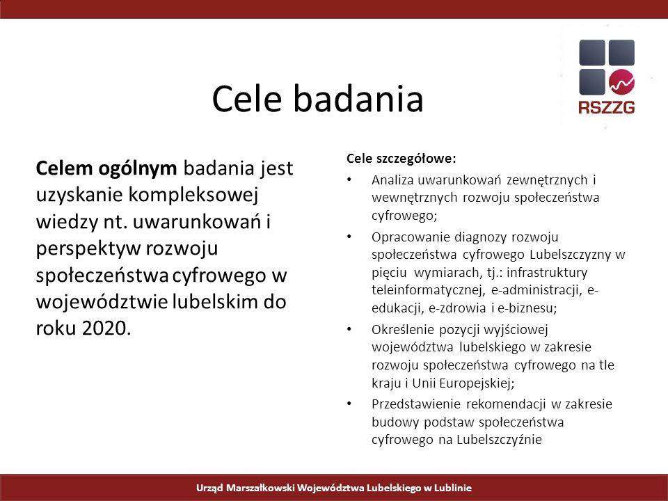Internet szerokopasmowy w Polsce Urząd Marszałkowski Województwa Lubelskiego w Lublinie