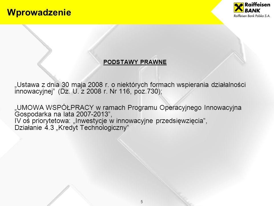"""5 PODSTAWY PRAWNE """"Ustawa z dnia 30 maja 2008 r."""