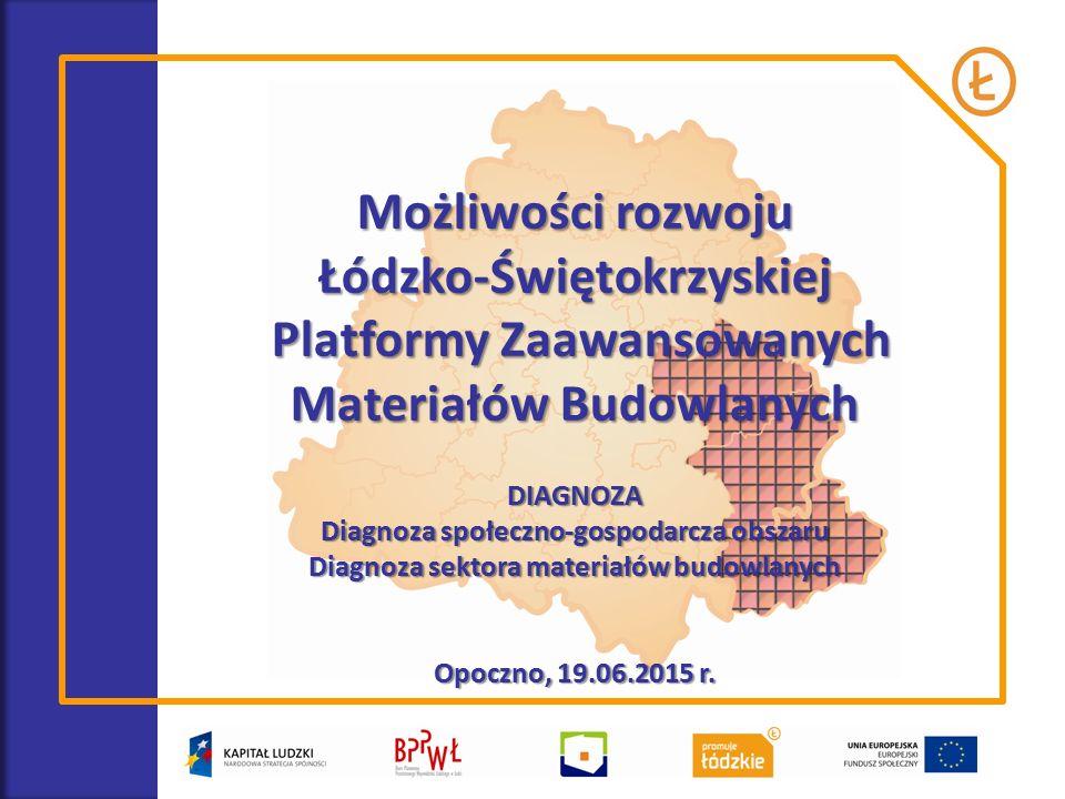 DIAGNOZA OBSZARU – KONTEKST SPOŁECZNY I GOSPODARCZY źródło: www.opocznopowiat.pl