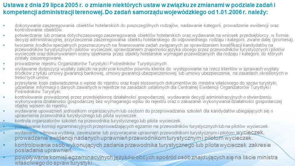 Ustawa z dnia 29 lipca 2005 r.