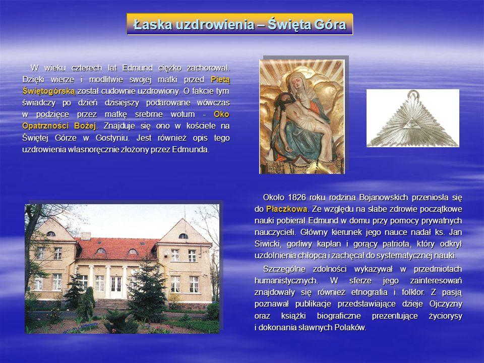 Studia uniwersyteckie – Wrocław, Berlin W 1832 roku Edmund wraz z matką wyjechał do Wrocławia, gdzie uzupełnił wykształcenie średnie, i wkrótce rozpoczął studia na tamtejszym uniwersytecie, na Wydziale Nauk Filozoficznych.
