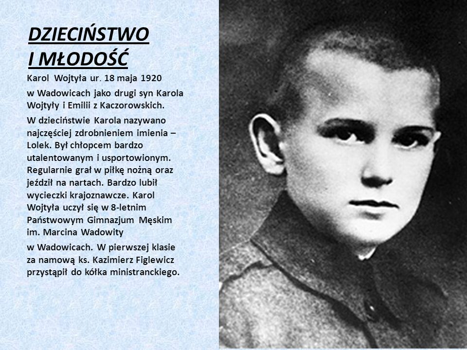 Jan Paweł II STUDIA