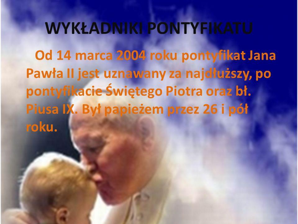 ZAMACH NA JANA PAWŁA II Kwadrans po godzinie siedemnastej, gdy Jan Paweł II rozpoczynał 13.V.1981 roku objazd placu św.