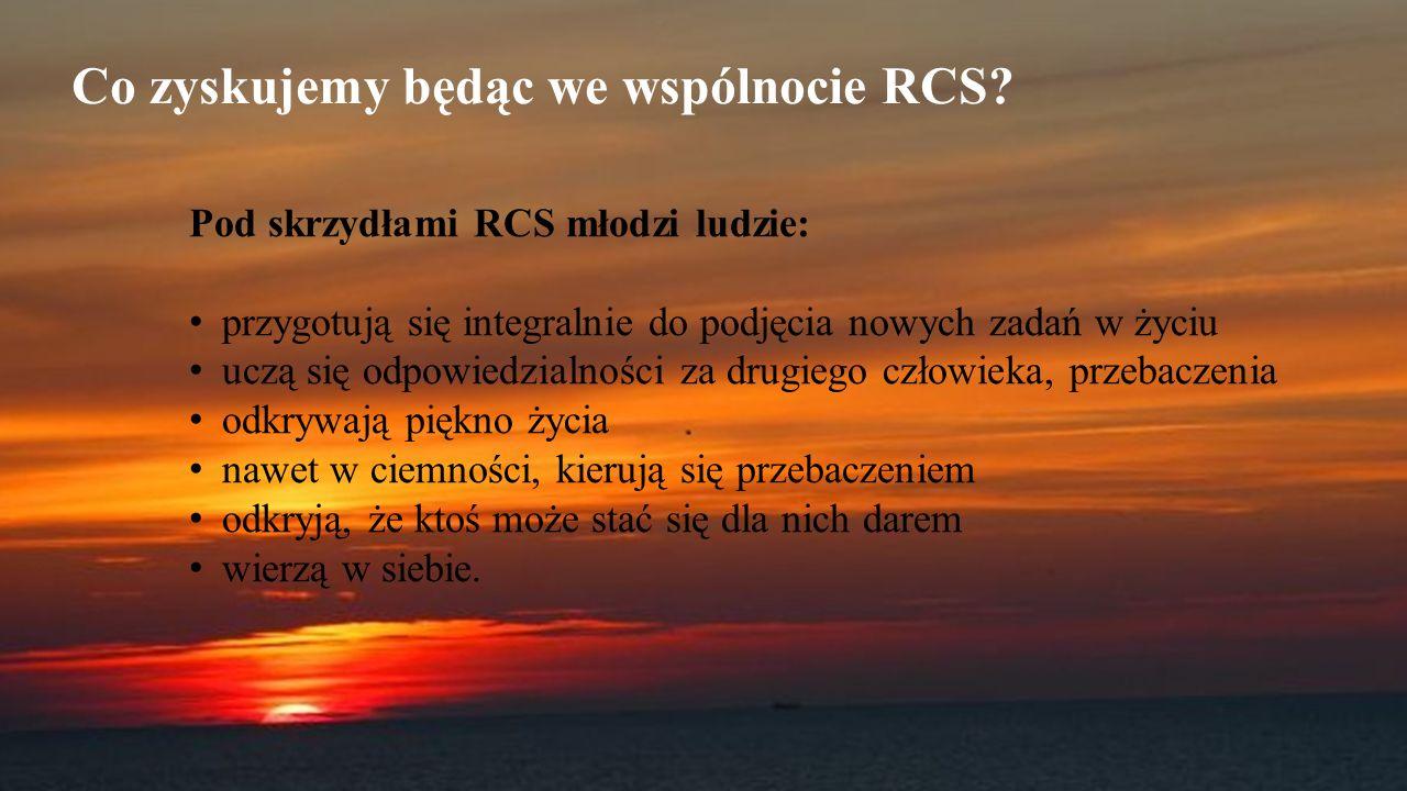 Co zyskujemy będąc we wspólnocie RCS.