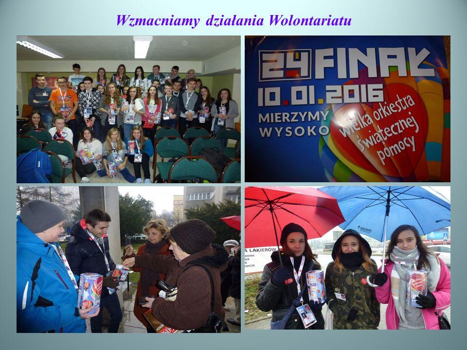 Wzmacniamy działania Wolontariatu