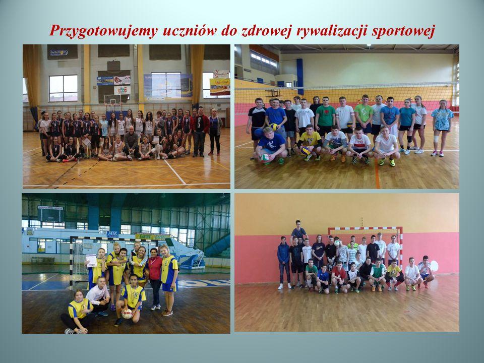 Przygotowujemy uczniów do zdrowej rywalizacji sportowej