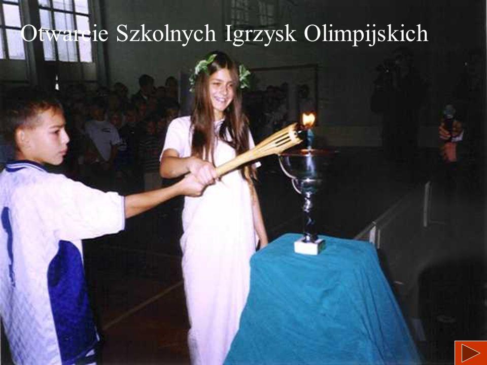 Otwarcie Szkolnych Igrzysk Olimpijskich