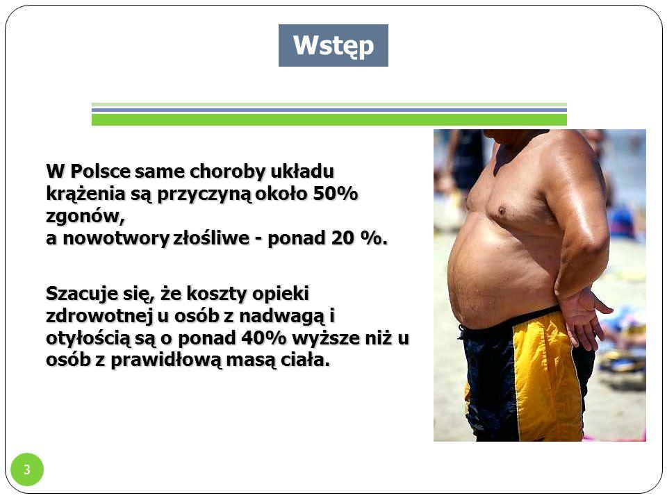 3 W Polsce same choroby układu krążenia są przyczyną około 50% zgonów, a nowotwory złośliwe - ponad 20 %.