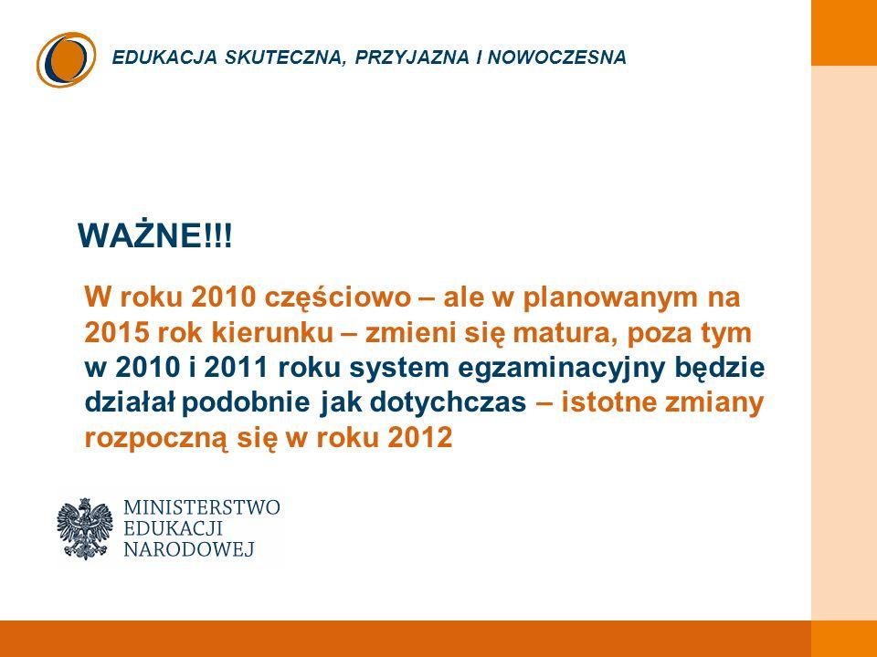 EDUKACJA SKUTECZNA, PRZYJAZNA I NOWOCZESNA WAŻNE!!.