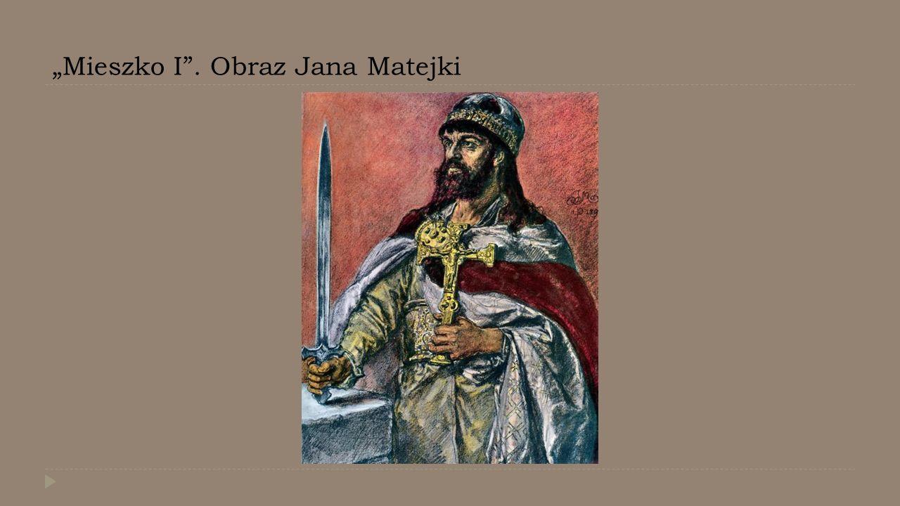 """Mieszko I"". Obraz Jana Matejki"