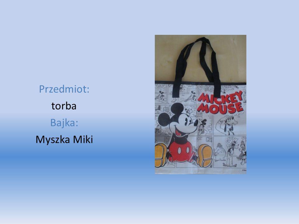 Przedmiot: torba Bajka: Myszka Miki