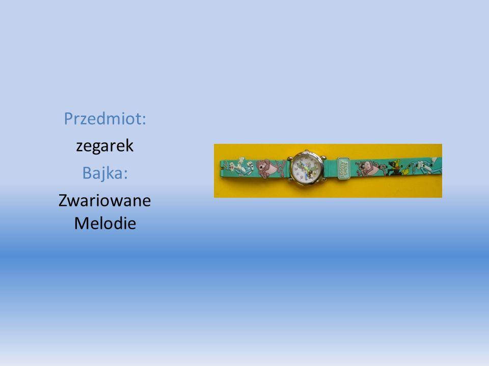 Przedmiot: zegarek Bajka: Zwariowane Melodie