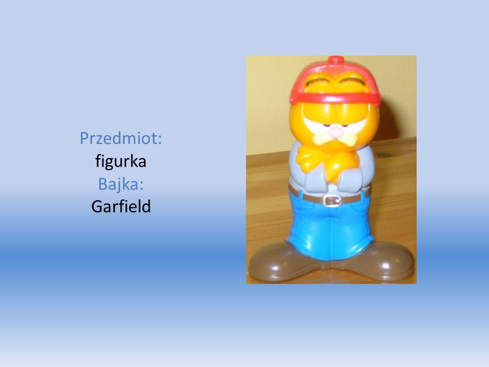 Przedmiot: figurka Bajka: Garfield
