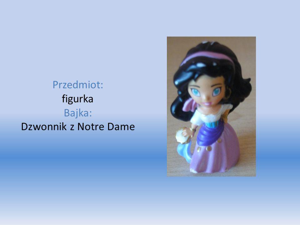 Przedmiot: figurka Bajka: Dzwonnik z Notre Dame