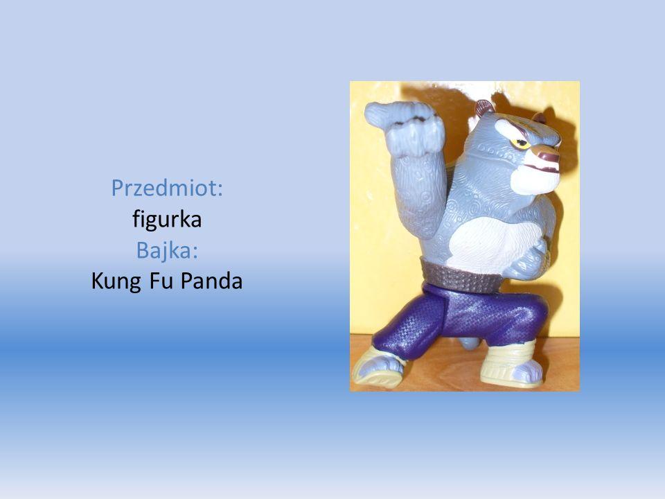 Przedmiot: figurka Bajka: Kung Fu Panda