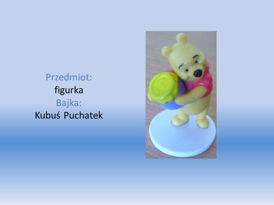 Przedmiot: figurka Bajka: Kubuś Puchatek