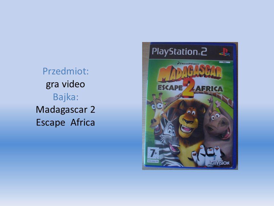 Przedmiot: gra video Bajka: Madagascar 2 Escape Africa