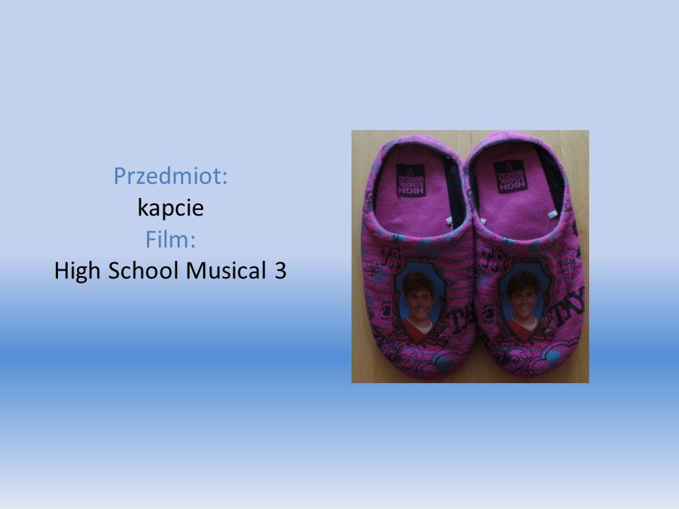 Przedmiot: kapcie Film: High School Musical 3