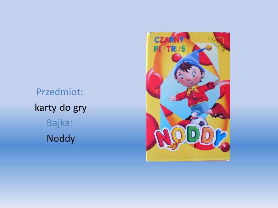 Przedmiot: karty do gry Bajka: Noddy