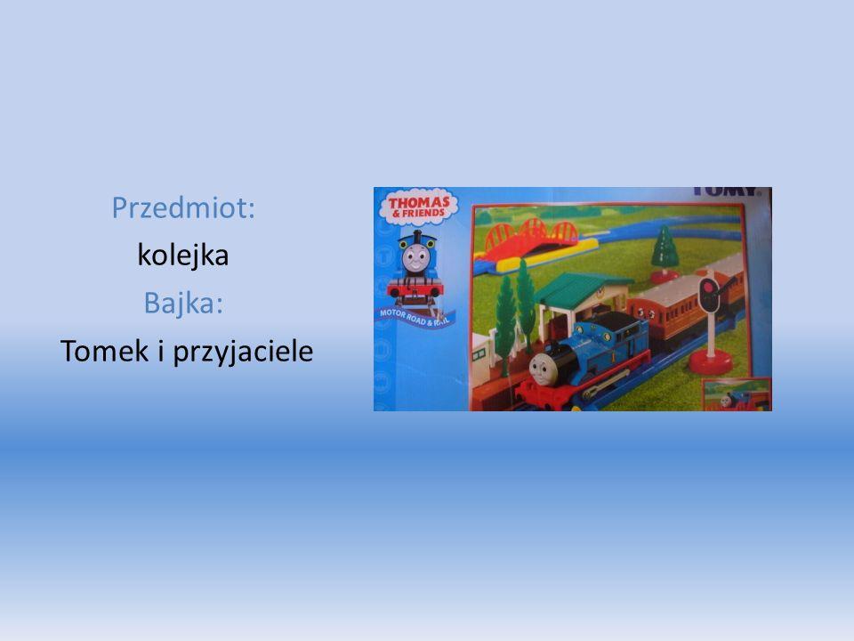 Przedmiot: kolejka Bajka: Tomek i przyjaciele
