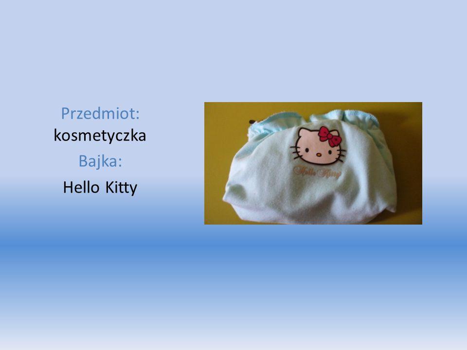 Przedmiot: kosmetyczka Bajka: Hello Kitty