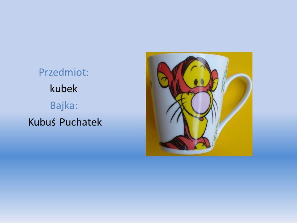 Przedmiot: kubek Bajka: Kubuś Puchatek