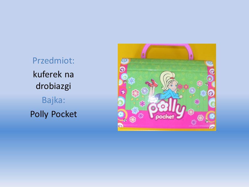 Przedmiot: kuferek na drobiazgi Bajka: Polly Pocket