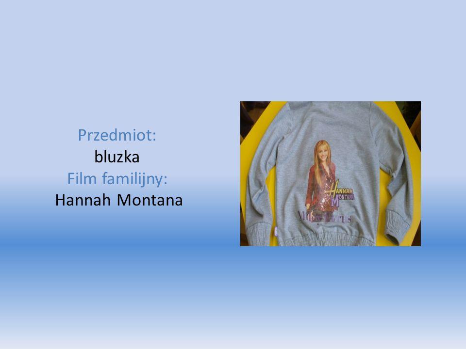 Przedmiot: bluzka Film familijny: Hannah Montana