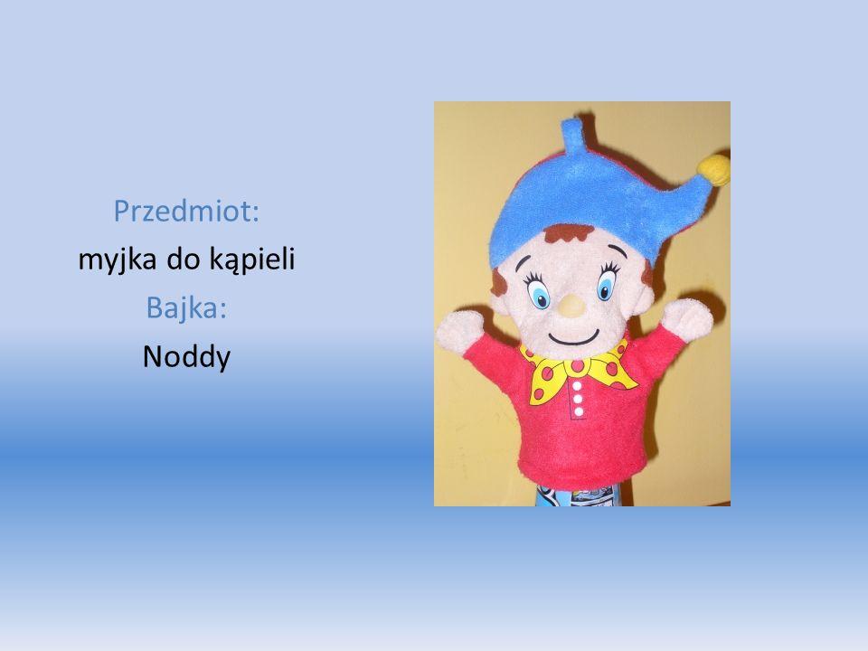 Przedmiot: myjka do kąpieli Bajka: Noddy
