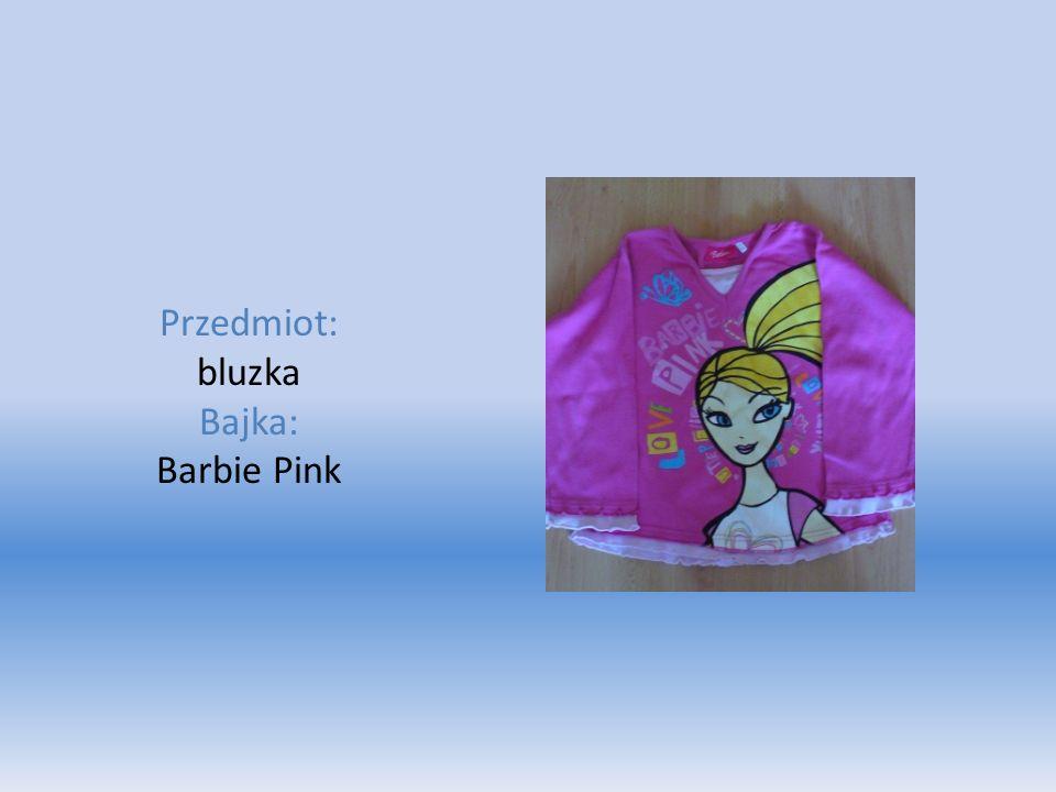 Przedmiot: bluzka Bajka: Barbie Pink