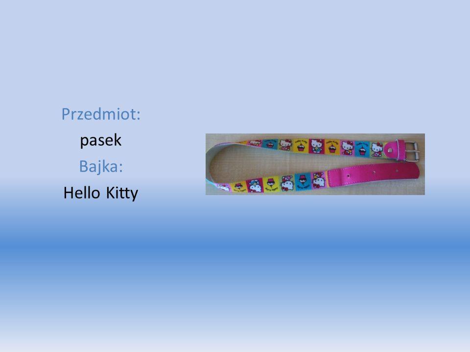 Przedmiot: pasek Bajka: Hello Kitty
