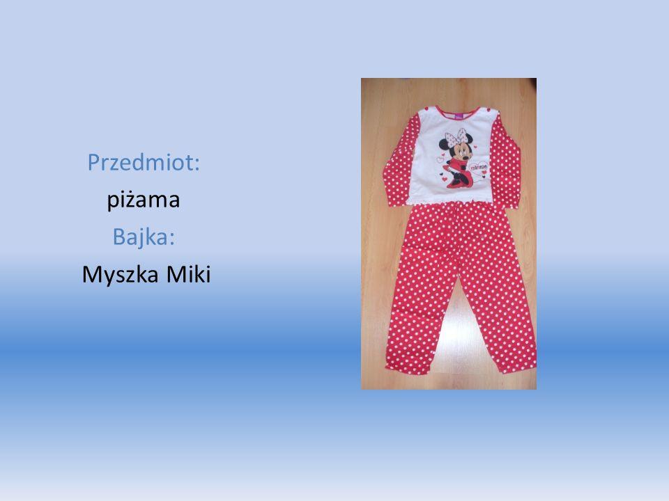 Przedmiot: piżama Bajka: Myszka Miki