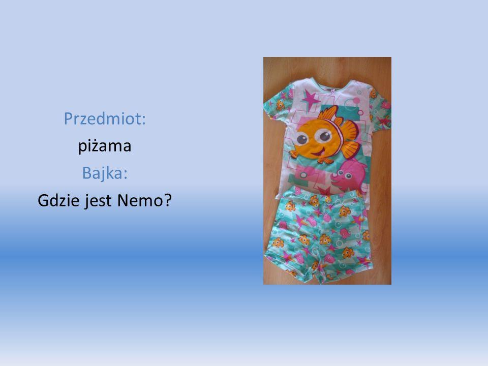 Przedmiot: piżama Bajka: Gdzie jest Nemo?