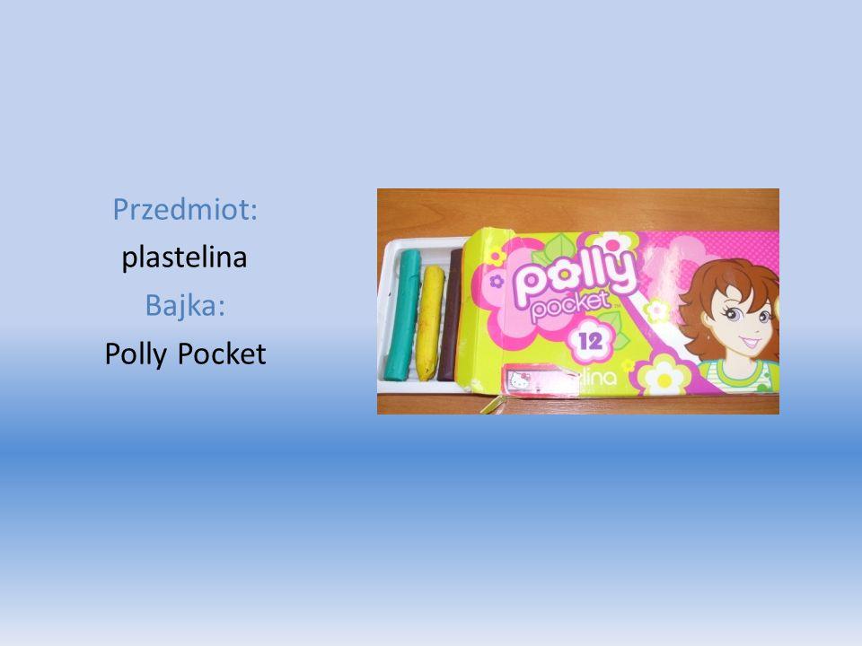 Przedmiot: plastelina Bajka: Polly Pocket